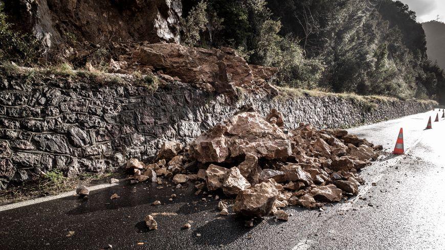 La Nationale 116 a connu des éboulements importants ces derniers jours