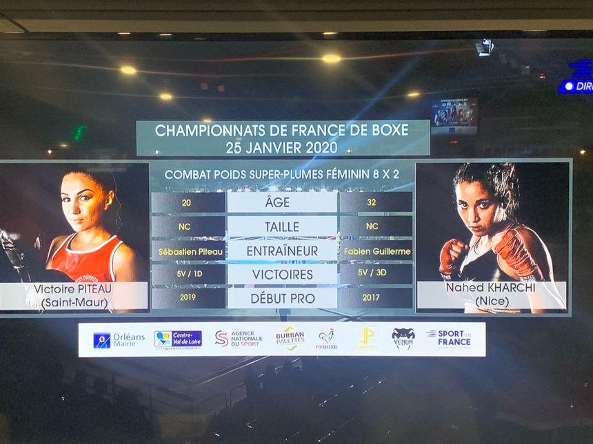 Sur l'écran la différence d'âge est de 12 ans entre les deux boxeuses