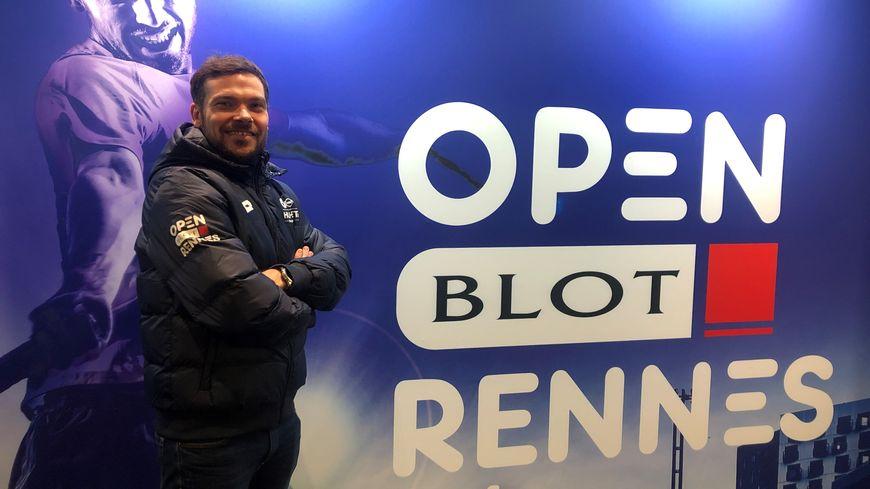 Le directeur du tournoi, Mathieu Blesteau, attend beaucoup du déménagement au Liberté.