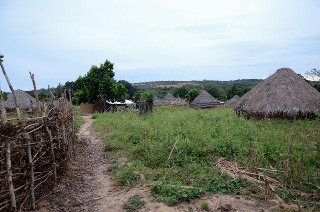 Le village de Kondekere, à l'ouest du Parc National du Moyen Bafing situé au cœur de la Guinée