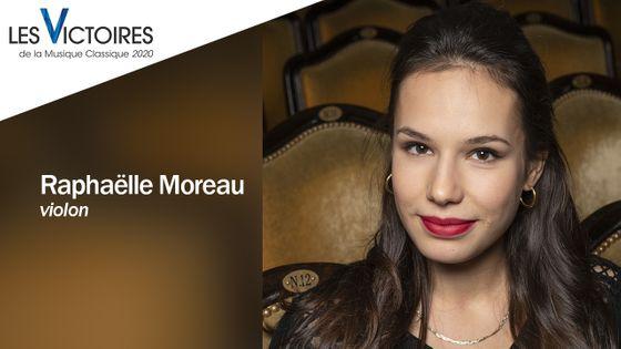 La violoniste Raphaëlle Moreau fait partie des nommés aux Révélations des Victoires de la Musique Classique 2020