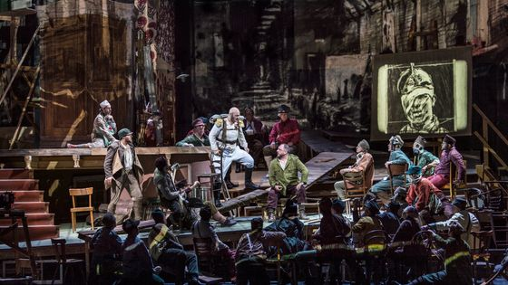 Wozzeck par Alban Berg, mise en scène par William Kentridge au Metropolitan Opera