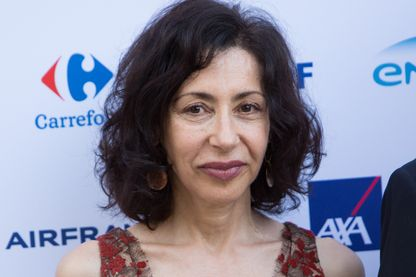 Yasmina Reza en juin 2016
