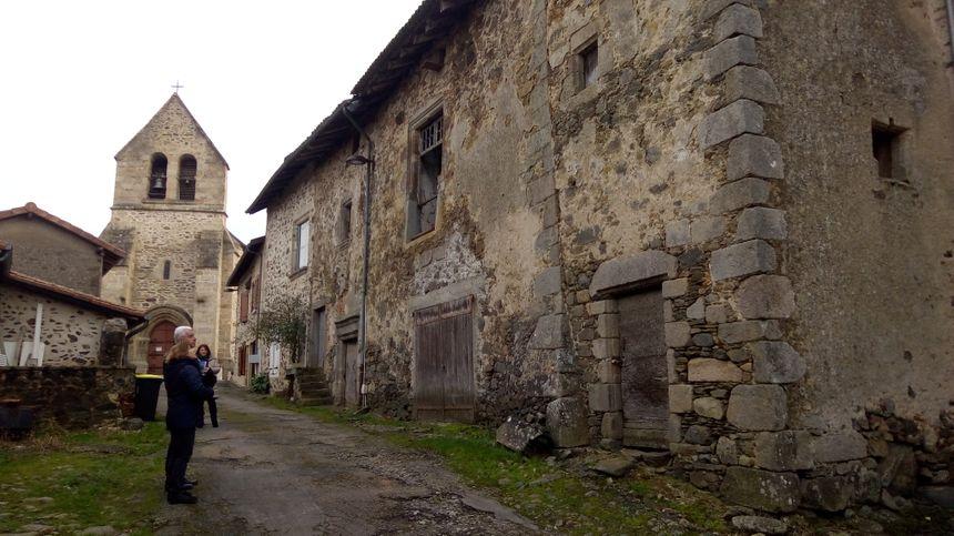 Burgnac, la rue froide