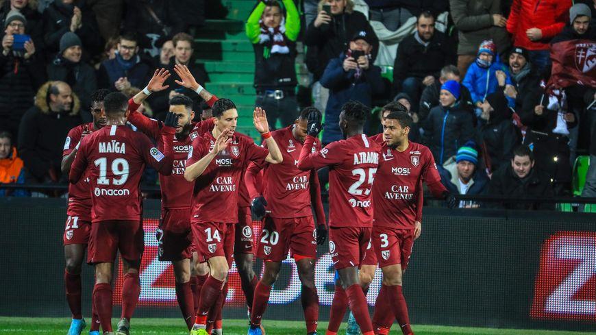 Le FC Metz s'est imposé 1 à 0 dans le derby de l'Est