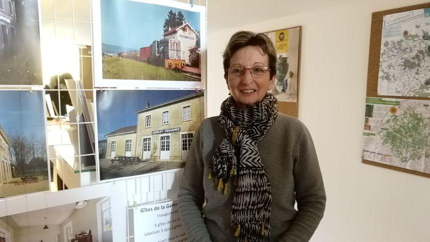 Marie Rose Pitois note déjà l'arrivée d'une nouvelle clientèle pour les gîtes de Leuglay