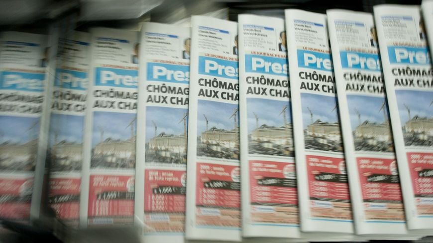 Plusieurs éditions de Presse Océan et Ouest France n'ont pas pu être distribuées ce mercredi matin (photo d'archives)