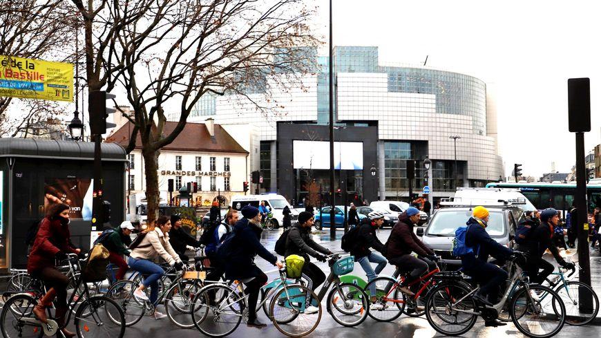 190.000 courses de vélos par jour ont été comptabilisés durant la grève