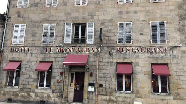 Hotel Restaurant Le Montauban -6 avenue Edouard Herriot à Brive- tenu par Jean-Luc et Cécile VIGINIAT