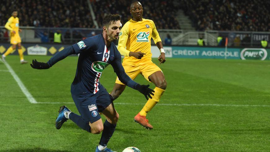 Pablo Sarabia a inscrit son 4e but en Coupe de France