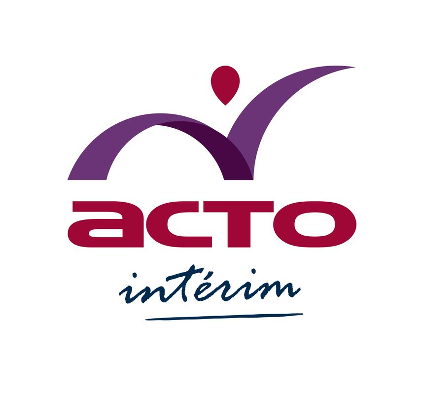 Le logo de l'agence Acto Limoges pour le travail intérimaire