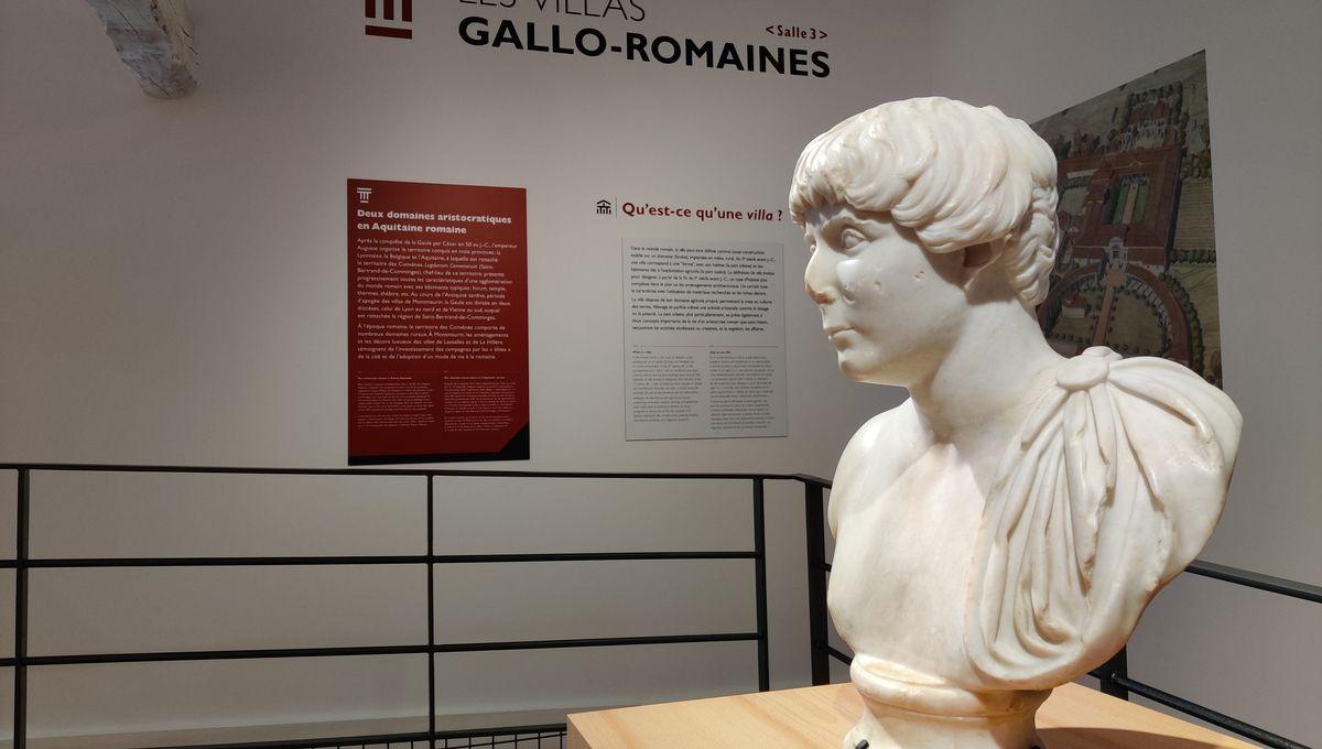 PHOTOS / Un nouveau musée archéologique pour mettre en valeur le site de Montmaurin