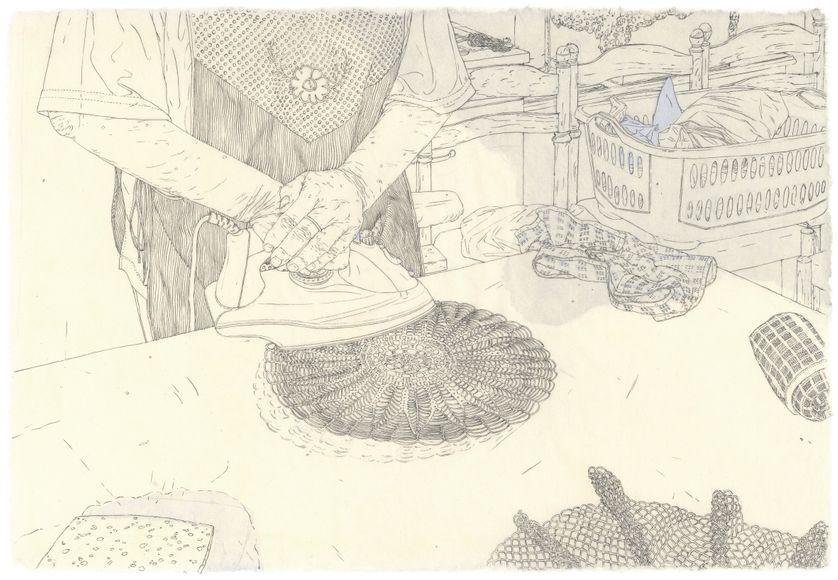 La dessinatrice Louise Collet
