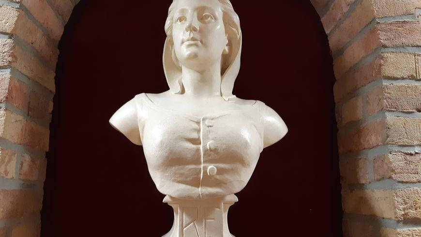 Le buste de Marianne, dans une mairie