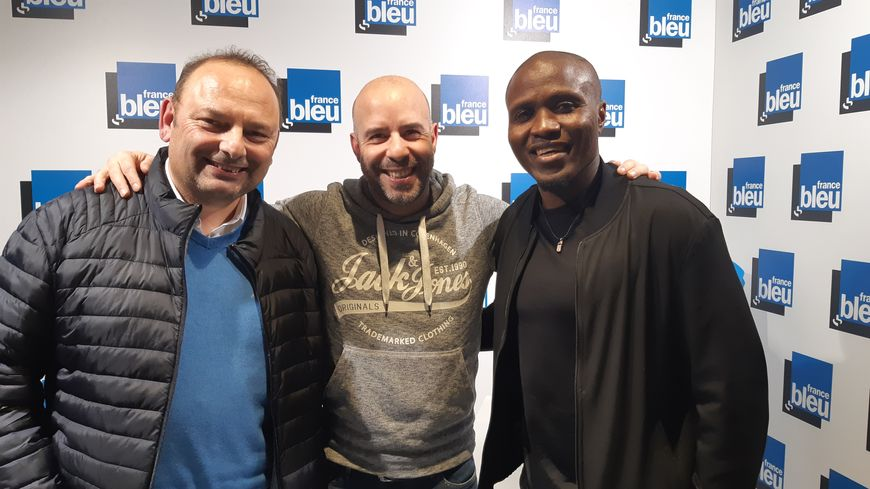 100% ASNL : Laurent Pilloni, Landry NGuemo et Hervé Barbaro