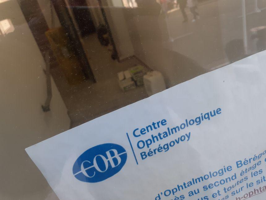 Le nouveau cabinet d'ophtalmo de Charleville-Mézières en travaux