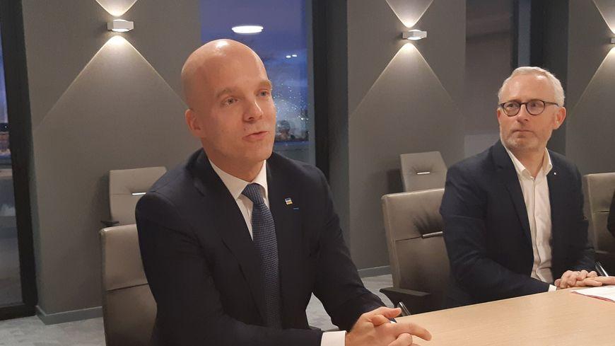 Bruno Bouygues le PDG de la société GYS, implantée en Mayenne depuis 1964
