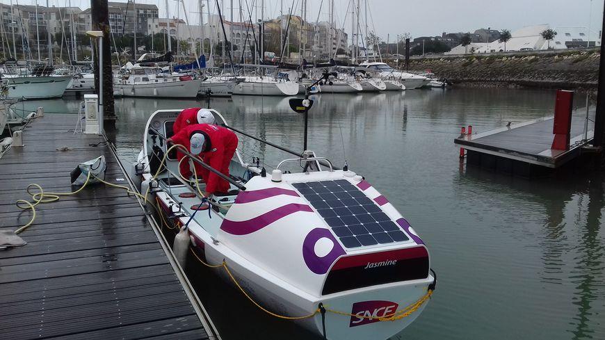 Les papys rameurs étaient venus accoster au Port des Minimes de La Rochelle pour le weekend du 11 novembre