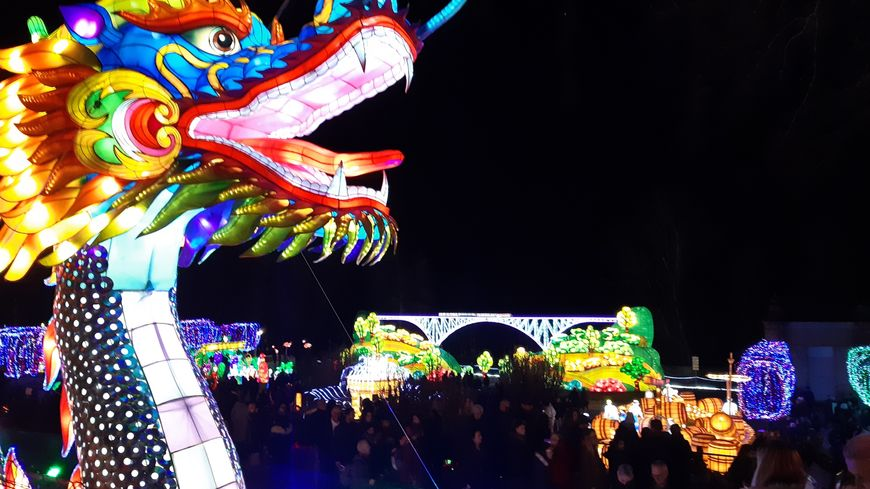 Pour le nouvel an chinois, le 25 janvier, 17.000 spectateurs à Gaillac.