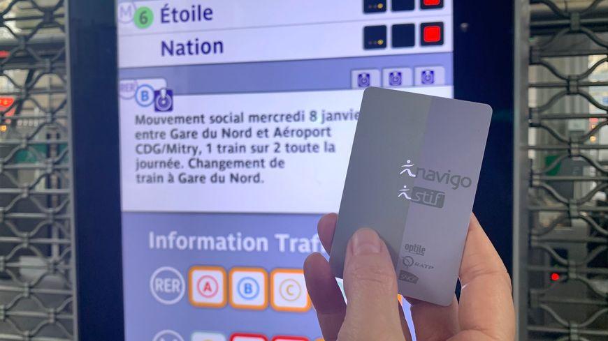 remboursement carte navigo greve Grève dans les transports : le site de remboursement du passe