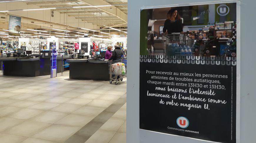 Le magasin U de Craon coupe le son tous les mardis entre 13h30 et 15h30.