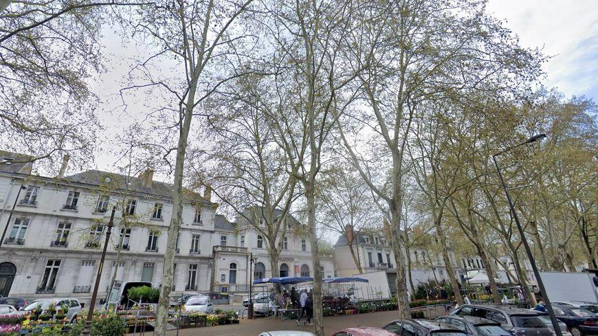 Le boulevard Béranger à Tours