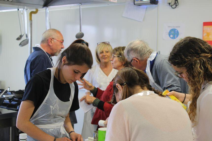 Atelier intergénérationnel de cuisine occitane