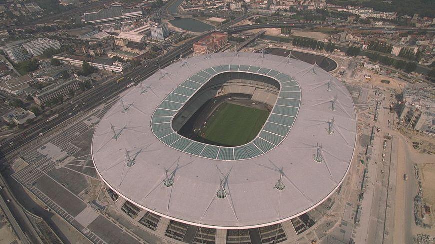 Vue aérienne du Stade de France