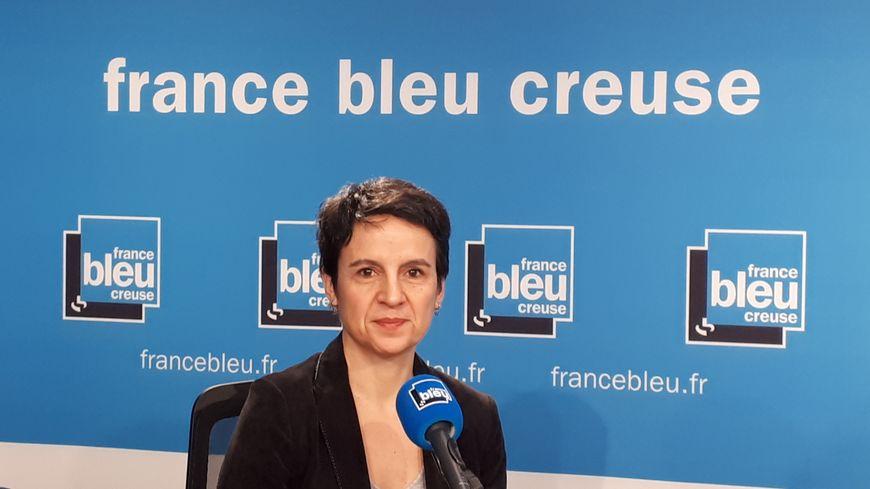 Marilyne Martinez, directrice de la DIRECCTE, la direction de l'emploi en Creuse