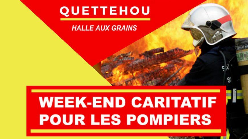 Le weekend en faveur des pompiers à Quettehou avec France Bleu Cotentin