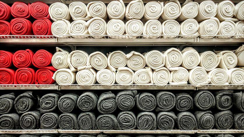 L'économie des textiles
