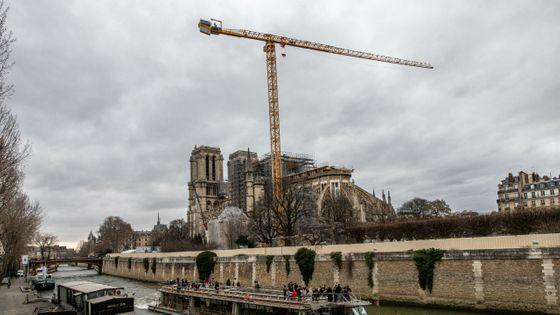 La cathédrale de Notre-Dame en janvier 2020