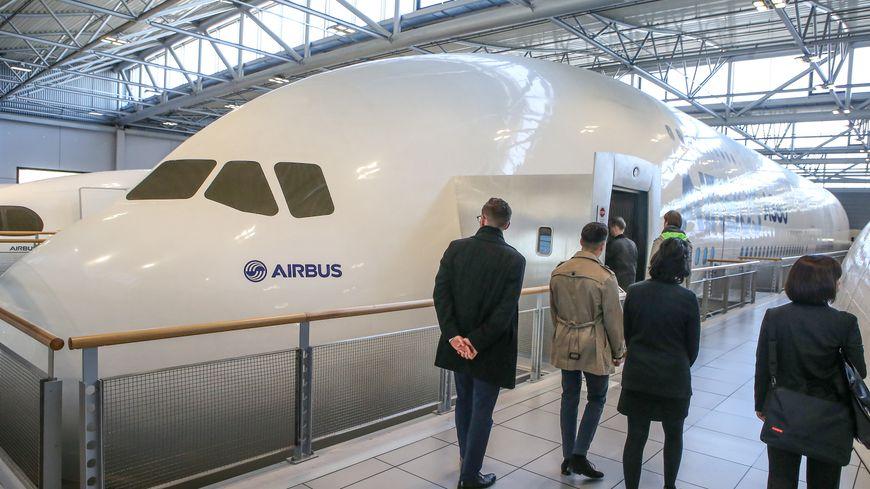 Usine Airbus à Blagnac (illustration)