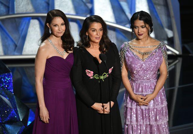 Les actrices Ashley Judd, Annabella Sciorra et Salma Hayek affirment avoir été agressées par Harvey Weinstein
