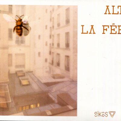 """Pochette de l'album """"La fée"""" par ALT (Alix Logiaco Trio)"""
