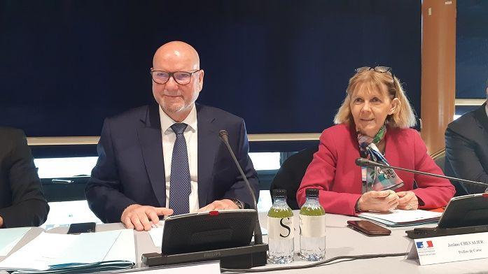 Jean Dominici, président de la CCI2B jusqu'ici, a été élu président de la chambre de Commerce et d'industrie de Corse ce lundi