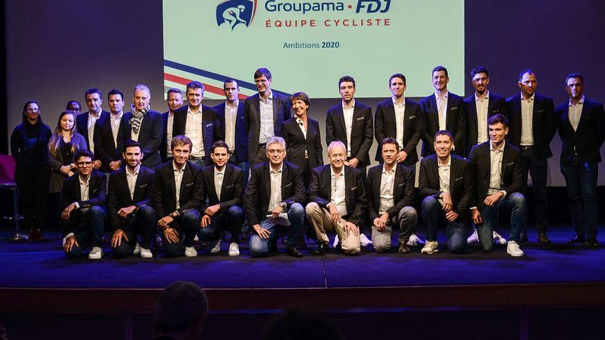Le Mayennais Marc Madiot et son équipe 2020 Groupama-FDJ