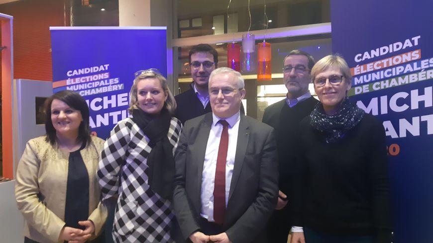 Le maire sortant de Chambéry Michel Dantin n'a dévoilé que quelques noms de sa liste pour les élections municipales