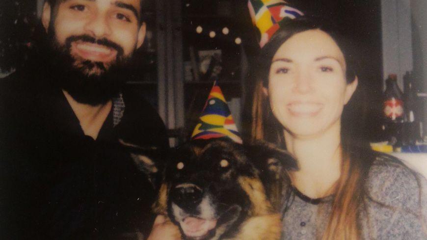 Amandine et Hugo avaient adopté Laïka, un berger allemand, en mars 2018