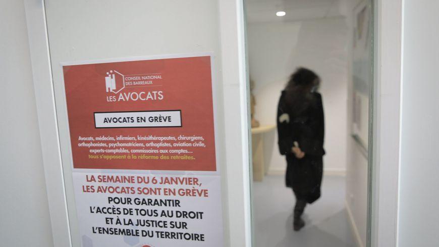 A Tours, comme dans la plupart des barreaux de France, la grève des avocats dure depuis le 6 janvier