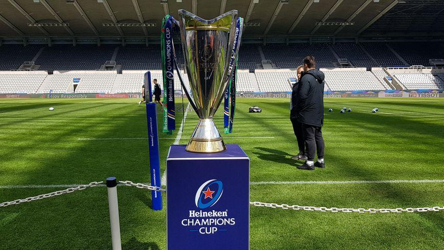 Photo de la coupe prise le 10 Mai 2019 à Newcastle (Angleterre).
