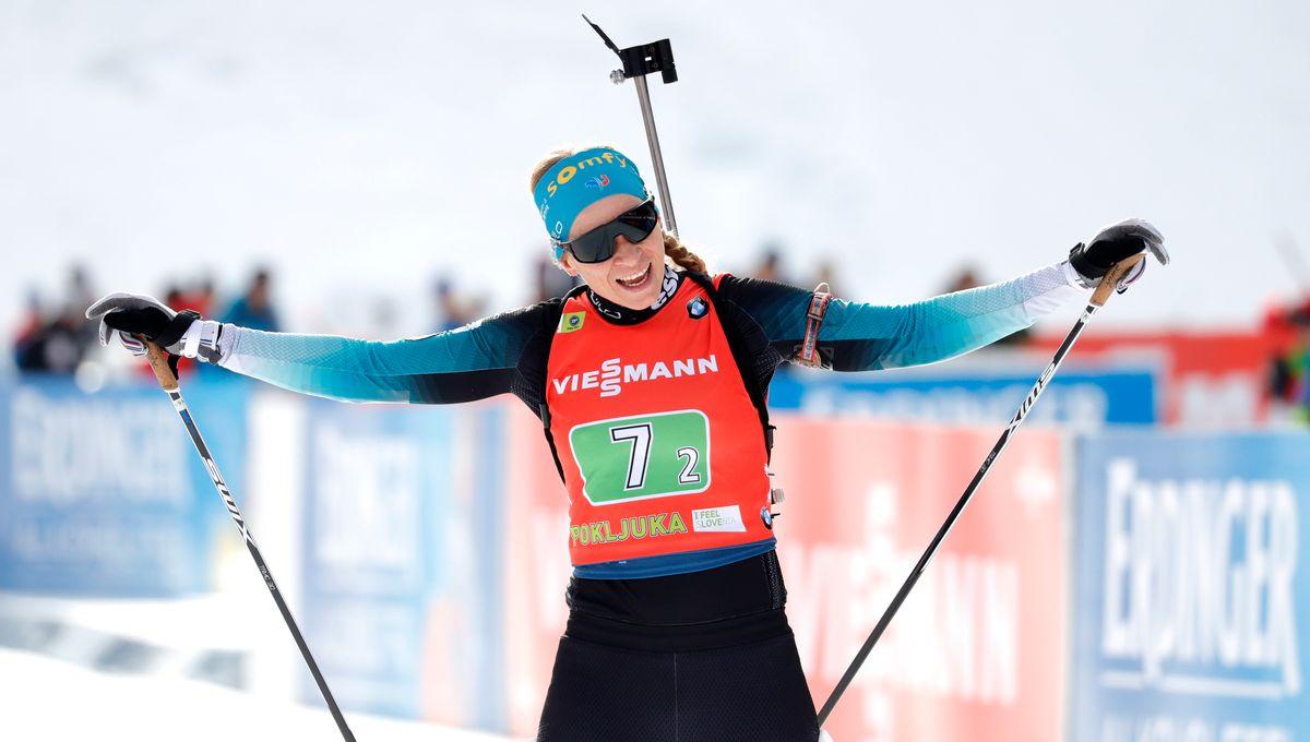 Biathlon : la Jurassienne Anaïs Bescond 3e de la mass start