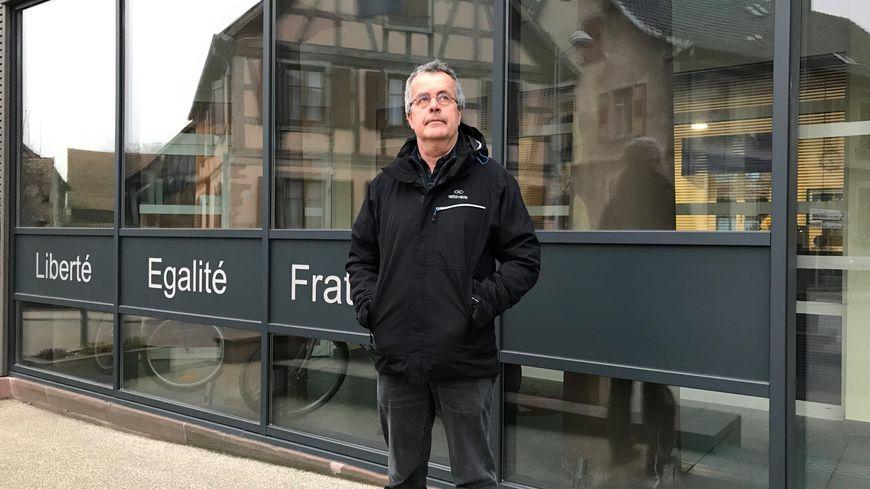 Patrick Barbier, le maire de Muttersholtz