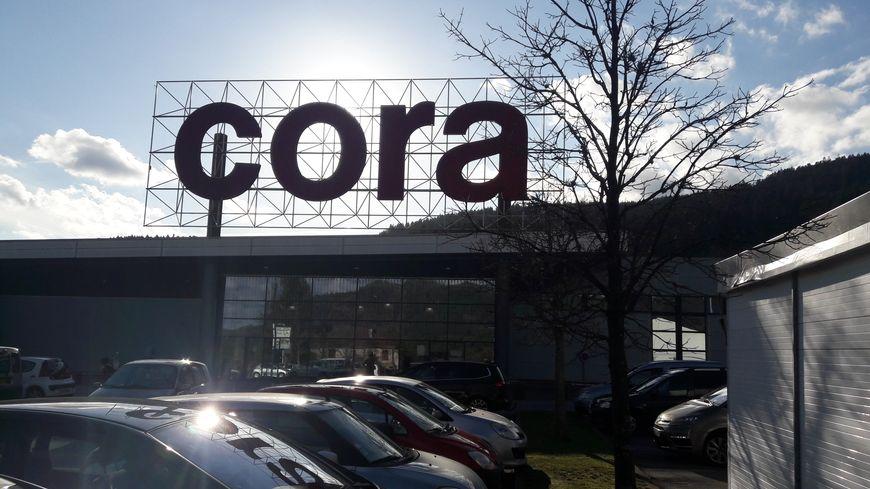 Le magasin Cora de Remiremont