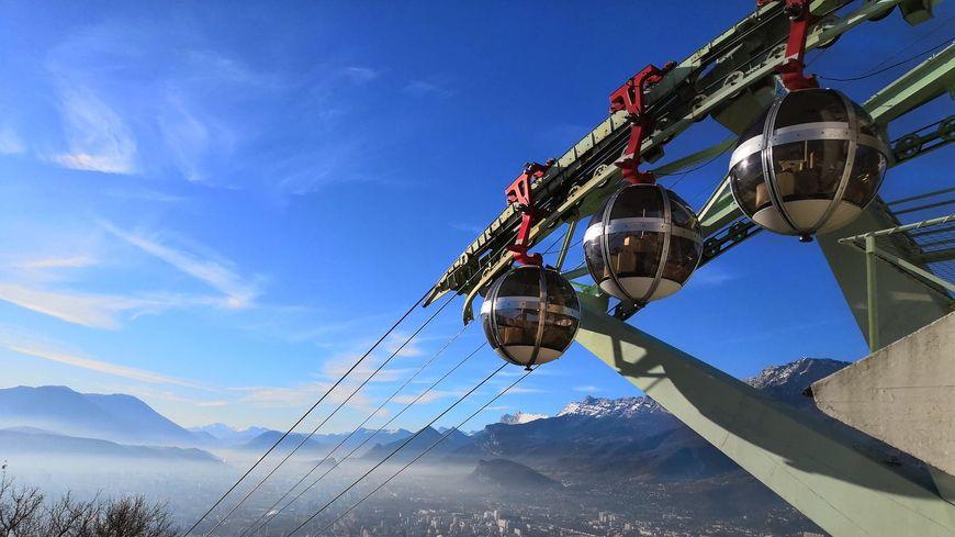 Le téléphérique de la Bastille à Grenoble est en travaux pendant un mois