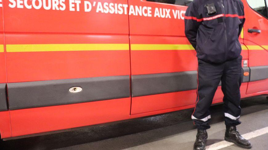 Une quinzaine de pompiers sont mobilisés