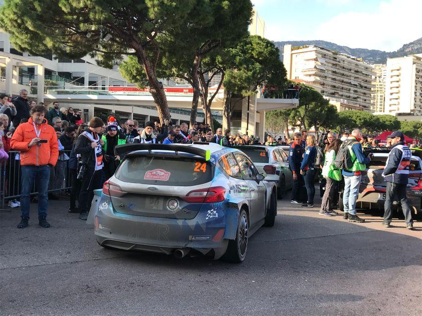 Il y avait comme chaque année énormément de monde à l'arrivée des pilotes à la Rascasse de Monaco