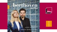 Sortie CD : Beethoven Suites - Julien Martineau, Vanessa Benelli Mosell