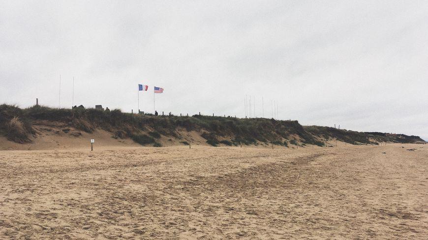 Uta Beach, l'une des cinq plages du Débarquement en Normandie.