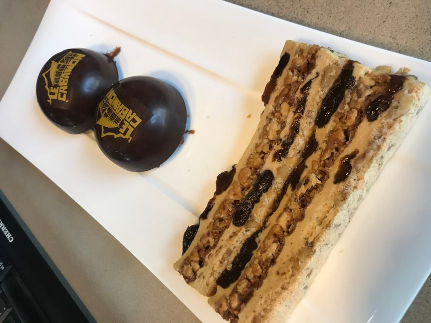 Les desserts du Cabano à St Jean de Sixt ..
